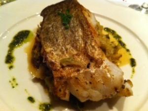 Main Course: Cabillaud (White Fish)