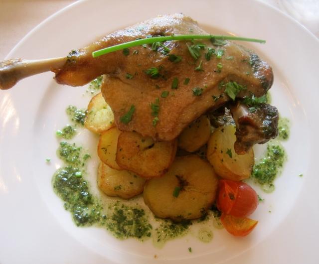 Magret de Canard avec pommes de terre sautées
