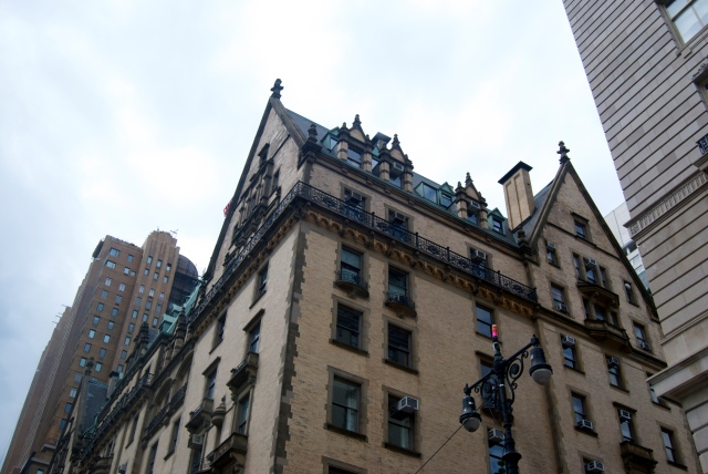 The Dakota Building, where John Lennon lived and died.