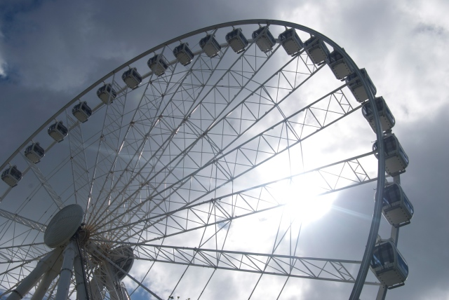 The wheel at the Hoe