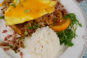 Corned Beef Hash, Hawaiian Style