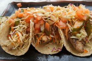 Fish Tacos with Pickled Vegetables