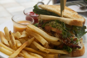Softshell Crab BLT