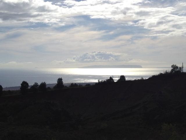 Niihau off in the distance